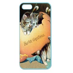 Vintage Easter Apple Seamless iPhone 5 Case (Color)