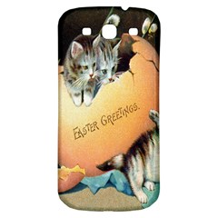Vintage Easter Samsung Galaxy S3 S III Classic Hardshell Back Case