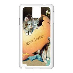 Vintage Easter Samsung Galaxy Note 3 N9005 Case (White)