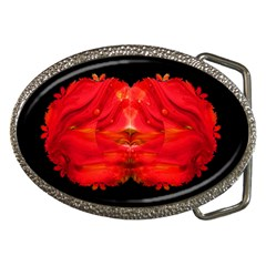 leprosy  Belt Buckle (Oval)