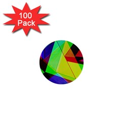 Moderne 1  Mini Button (100 pack)
