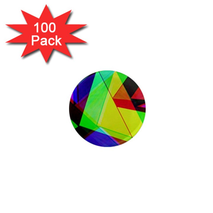 Moderne 1  Mini Button Magnet (100 pack)