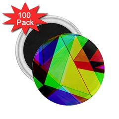 Moderne 2 25  Button Magnet (100 Pack)