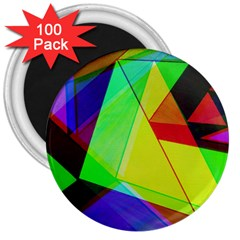 Moderne 3  Button Magnet (100 Pack)