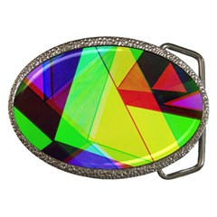 Moderne Belt Buckle (Oval)