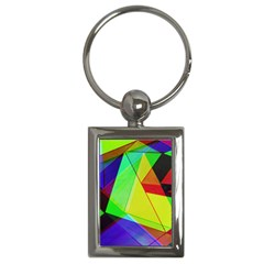 Moderne Key Chain (Rectangle)