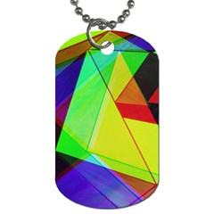Moderne Dog Tag (one Sided)