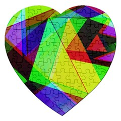 Moderne Jigsaw Puzzle (heart)