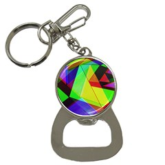 Moderne Bottle Opener Key Chain