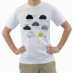 The Bright Side of Life Men s T-Shirt (White)
