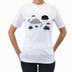 Cumulus Optimist Women s T-Shirt (White)