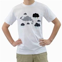 Cumulus Optimist Men s T Shirt (white)