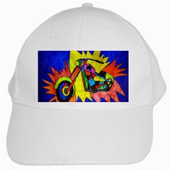 Chopper White Baseball Cap