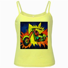 Chopper Yellow Spaghetti Tank