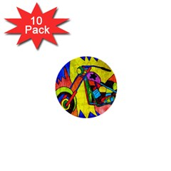 Chopper 1  Mini Button (10 Pack)