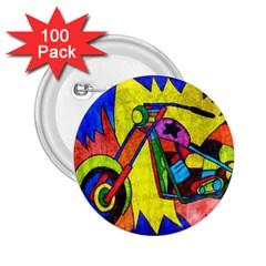 Chopper 2.25  Button (100 pack)
