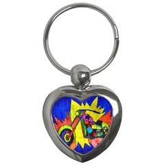 Chopper Key Chain (Heart)