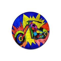Chopper Drink Coaster (Round)