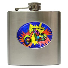 Chopper Hip Flask