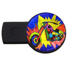 Chopper 2GB USB Flash Drive (Round)