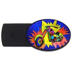 Chopper 1GB USB Flash Drive (Oval)