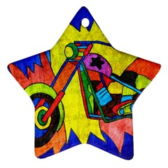 Chopper Star Ornament (Two Sides)