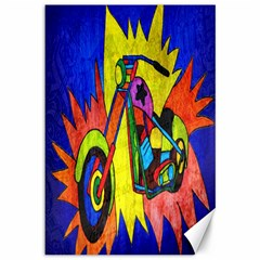 Chopper Canvas 12  x 18  (Unframed)