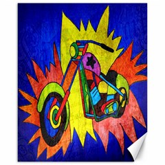 Chopper Canvas 16  x 20  (Unframed)