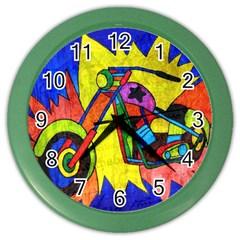 Chopper Wall Clock (Color)