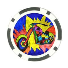 Chopper Poker Chip (10 Pack)