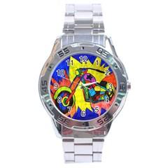 Chopper Stainless Steel Watch