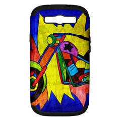 Chopper Samsung Galaxy S III Hardshell Case (PC+Silicone)