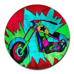 Chopper 8  Mouse Pad (Round)