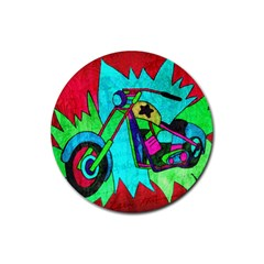 Chopper Drink Coasters 4 Pack (Round)