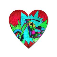 Chopper Magnet (Heart)