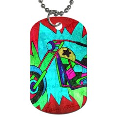 Chopper Dog Tag (Two-sided)