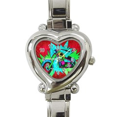 Chopper Heart Italian Charm Watch