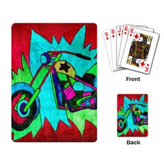 Chopper Playing Cards Single Design