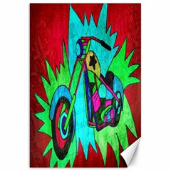 Chopper Canvas 20  X 30  (unframed)