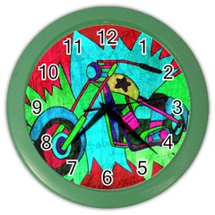 Chopper Wall Clock (Color)