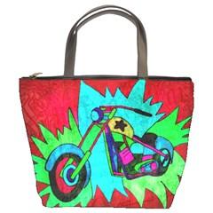 Chopper Bucket Handbag