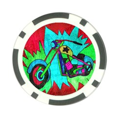 Chopper Poker Chip (10 Pack)