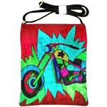 Chopper Shoulder Sling Bag Front