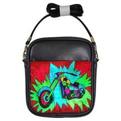 Chopper Girl s Sling Bag