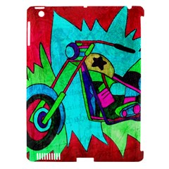 Chopper Apple iPad 3/4 Hardshell Case (Compatible with Smart Cover)
