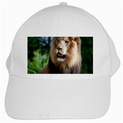 Regal Lion White Baseball Cap