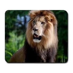Regal Lion Large Mouse Pad (rectangle)