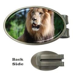 Regal Lion Money Clip (Oval)