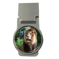 Regal Lion Money Clip (Round)