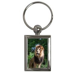 Regal Lion Key Chain (Rectangle)